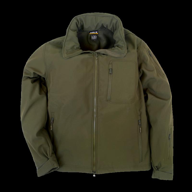Softshell Tactical Jacket, Olive, 2x