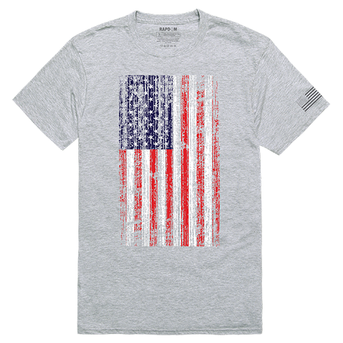 Tac. Graphic T, Distressed Flag, Hgy, 2x