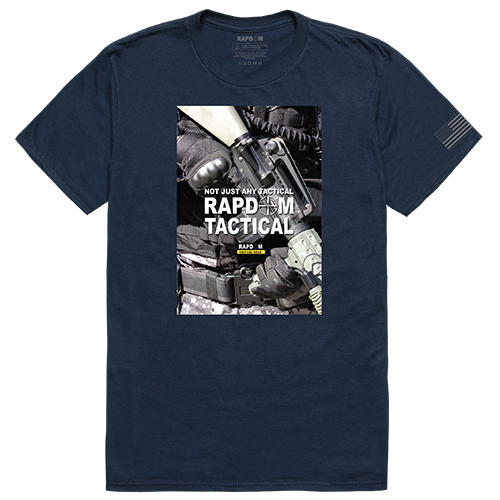 Tactical Graphic T, Rapdom 2, Nvy, s
