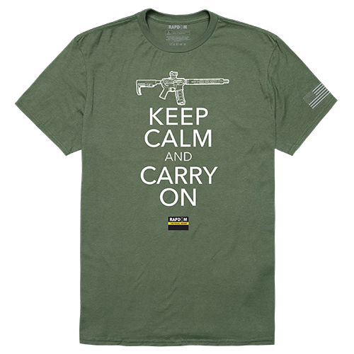 Tactical Graphic Tees, Carry On, Olv, m