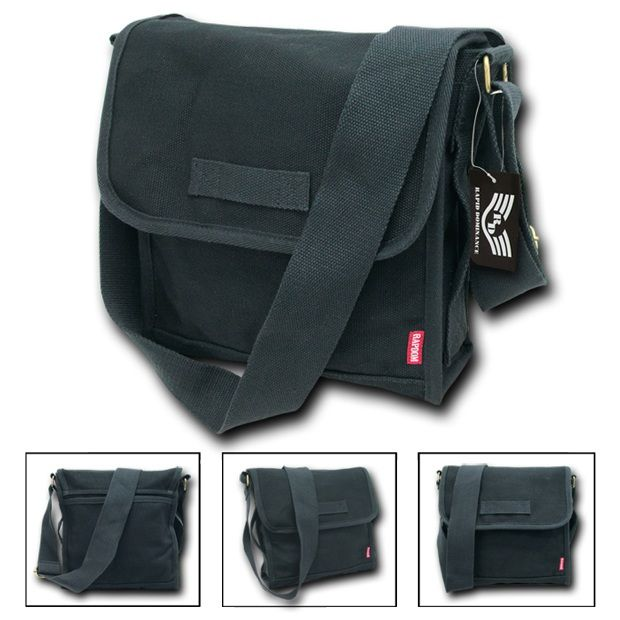 Heavyweight Field Bags, Black