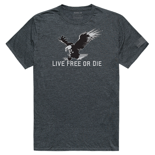 Tactical Graphic T, Live Free, Hch, l