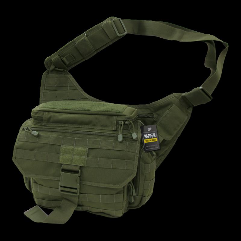 Tactical Messenger Bag, Olive Drab