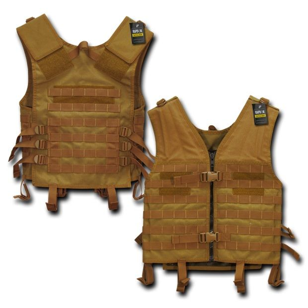 Tactical Modular Style Vest, Coyote