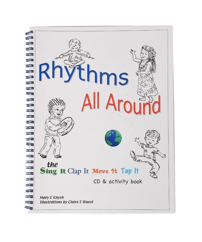Rhythms All Around Book & Cd By Mary Knysh