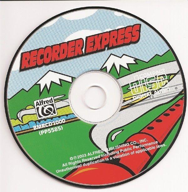 Recorder Express, Accompaniment Cd