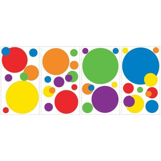 Colorful Dots Wall Decals