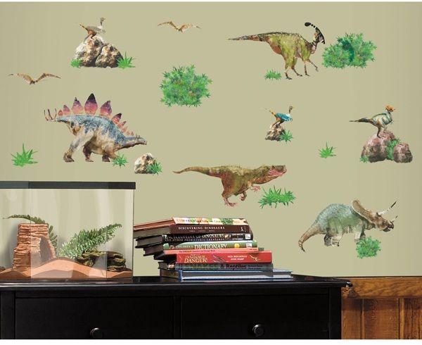 Dinosaur World Wall Decal