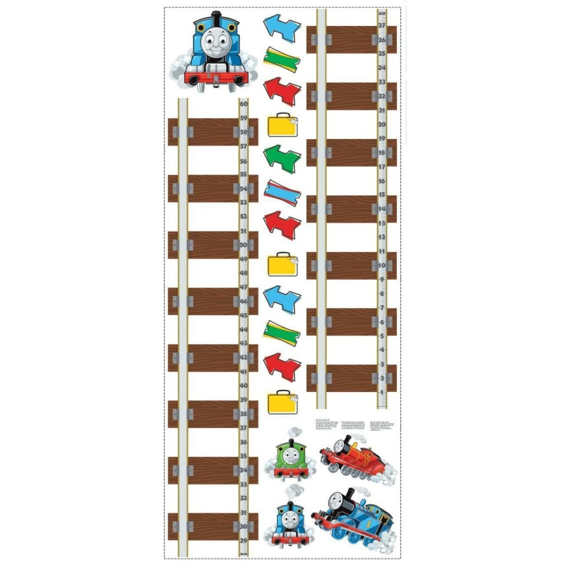 Thomas & Friends Growth Chart Wall Decal