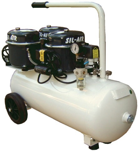 Silentaire Sil-Air 150-50 3x1/2 HP Oil Lubricated Compressor