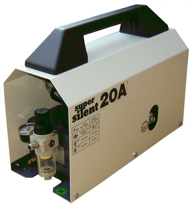 Silentaire 20-A 1/5 HP Super Silent Whisper Quiet Compressor