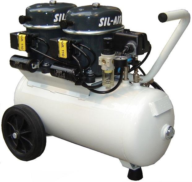 Silentaire Sil Air 100-24 Silent Running Airbrush Compressor