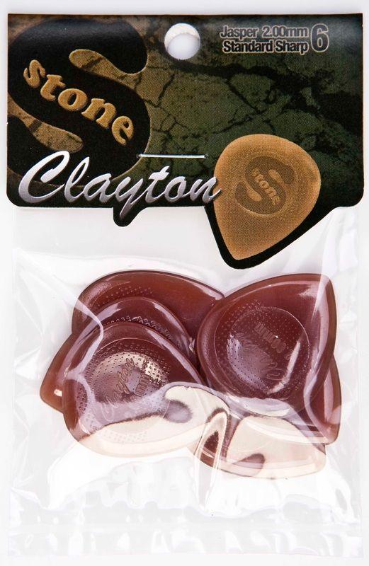 Steve Clayton™ Stone Picks: Standard Sharp, 2.00, 6 Pieces