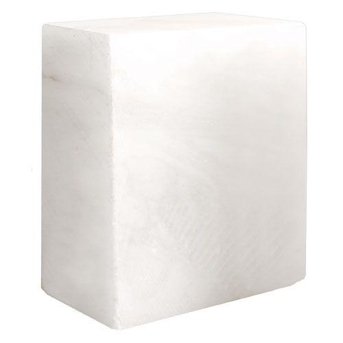 White Alabaster Block - 10 Lbs.