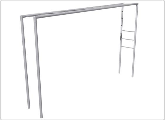SportsPlay Challenge Ladder: Galvanized - Playground Fitness Equipment