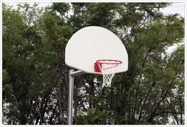 "SportsPlay 3.5"" Adjustable Backstop with Fan - Basketball Equipment"