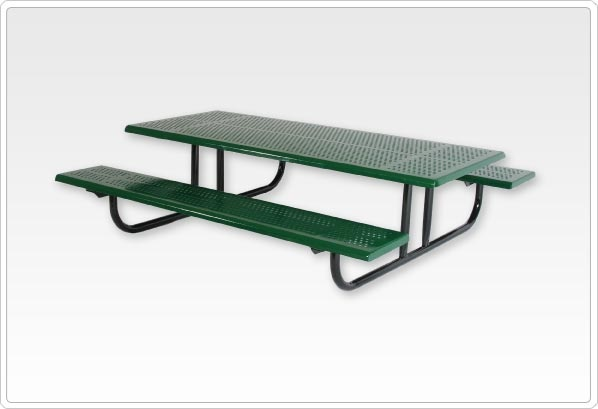 SportsPlay Early Childhood Rectangular Picnic Table - Playground Picnic Tables