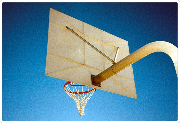 """SportsPlay Backboard Brace: Package with 3.5"""" - Basketball Backboard Equipment"""