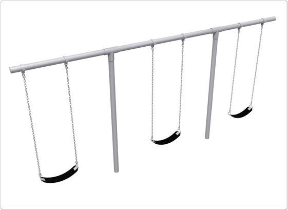 SportsPlay Heavy Duty T Swing: 3 Seats - Playground Swing Set