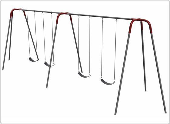 SportsPlay 10' Modern Tripod Swing: 4 Seats - Playground Swing Set