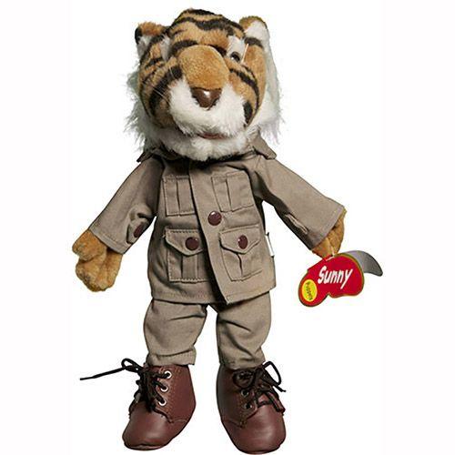"14"" Tiger In Safari Outfit"