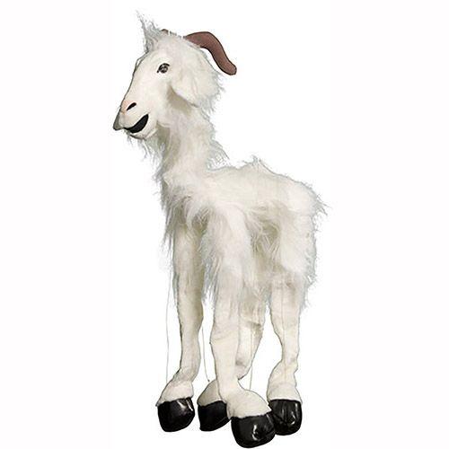 """38"""" Large White Goat"""