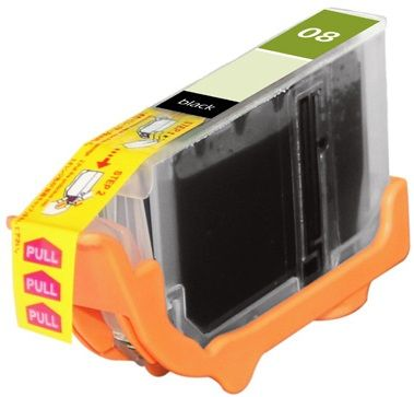 Canon OEM CLI-8BK Compatible Inkjet Cartridge: Black, 280 Yield