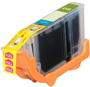 Canon OEM CLI-8C Compatible Inkjet Cartridge: Cyan, 280 Yield