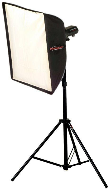 Photogenic AKC45K/956192 320 Watts-Second Soft Box Kit AC Power