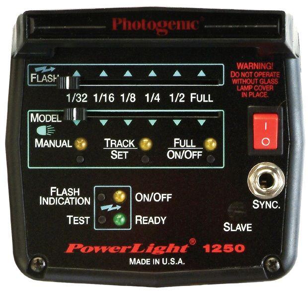Photogenic PL1250C/915755 500 W/S PowerLight Monolight Color-Corrected with Slider Control