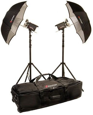Norman MLKIT800/812873 Two Light Travel Kit