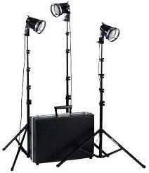 Smith Victor K2RA/401402 3-Light 1800-watt Portable Attache Kit