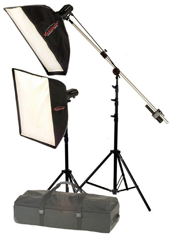 Photogenic AKC55K/956227 AC Power 640 Watts-Secomd Soft Box Portrait Kit