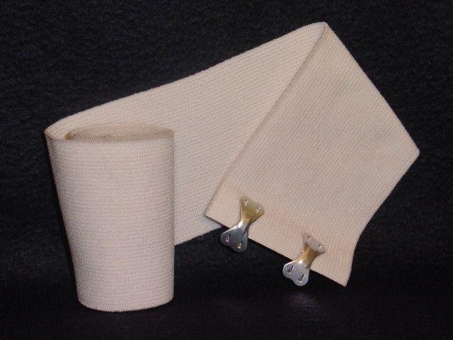 """Tetra Medical Supply Economy Knit Elastic Bandage: 3"""" x 4.5yd, Pack of 10"""