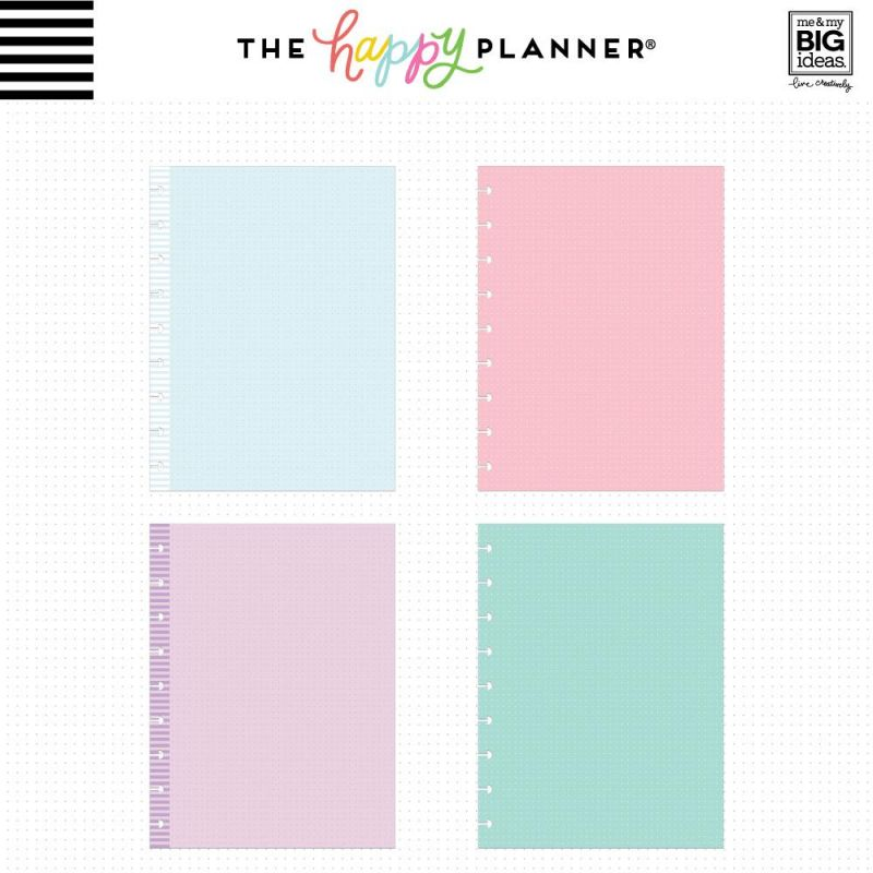 Colored Note Paper - Classic - Dot Grid