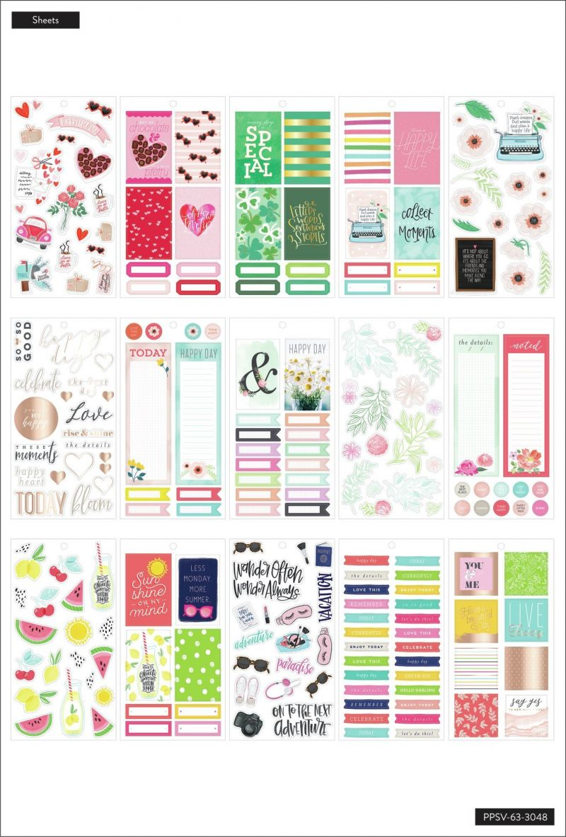 Happy Memory Keeping® Value Pack Stickers - Big - A Year Of Memories