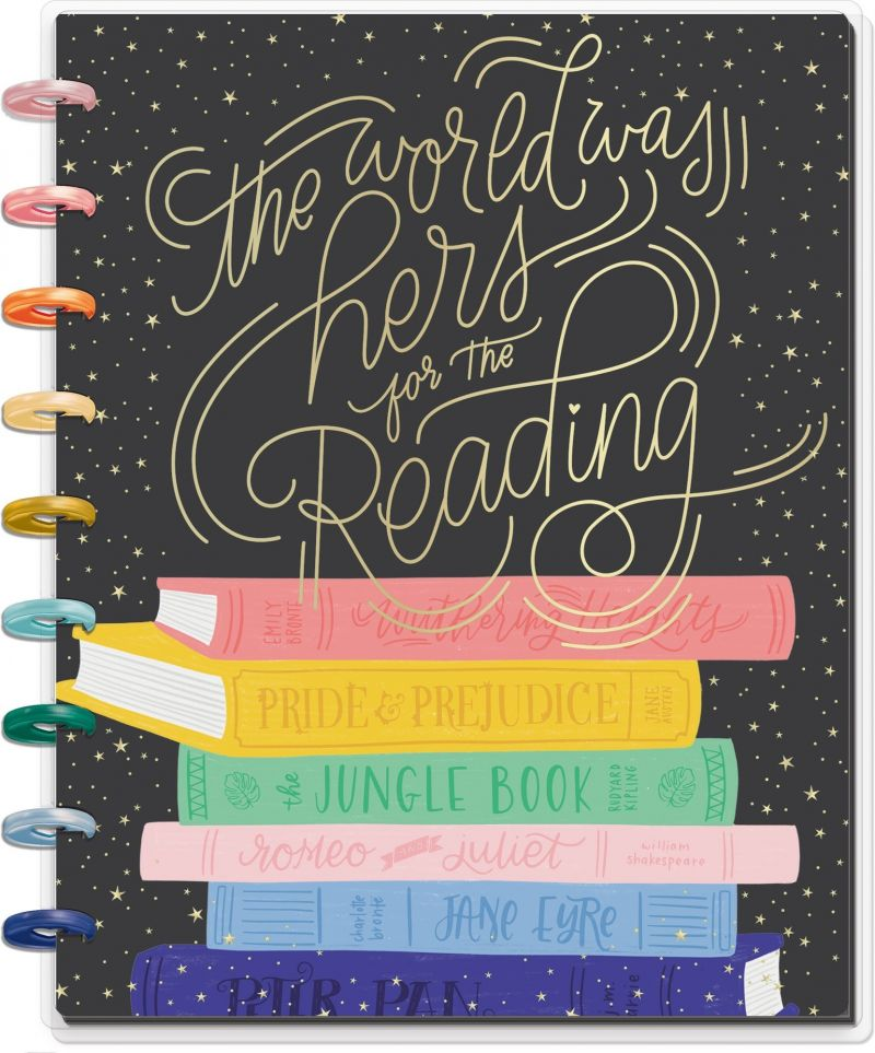 Classic Happy Notes® - The Bookish World Was Hers