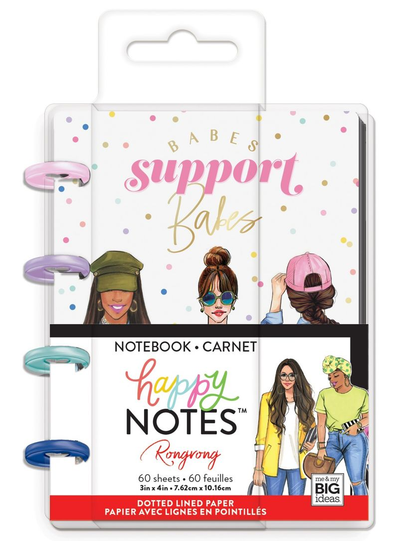 Micro Happy Notes™ - Rongrong - Babes Support Babes