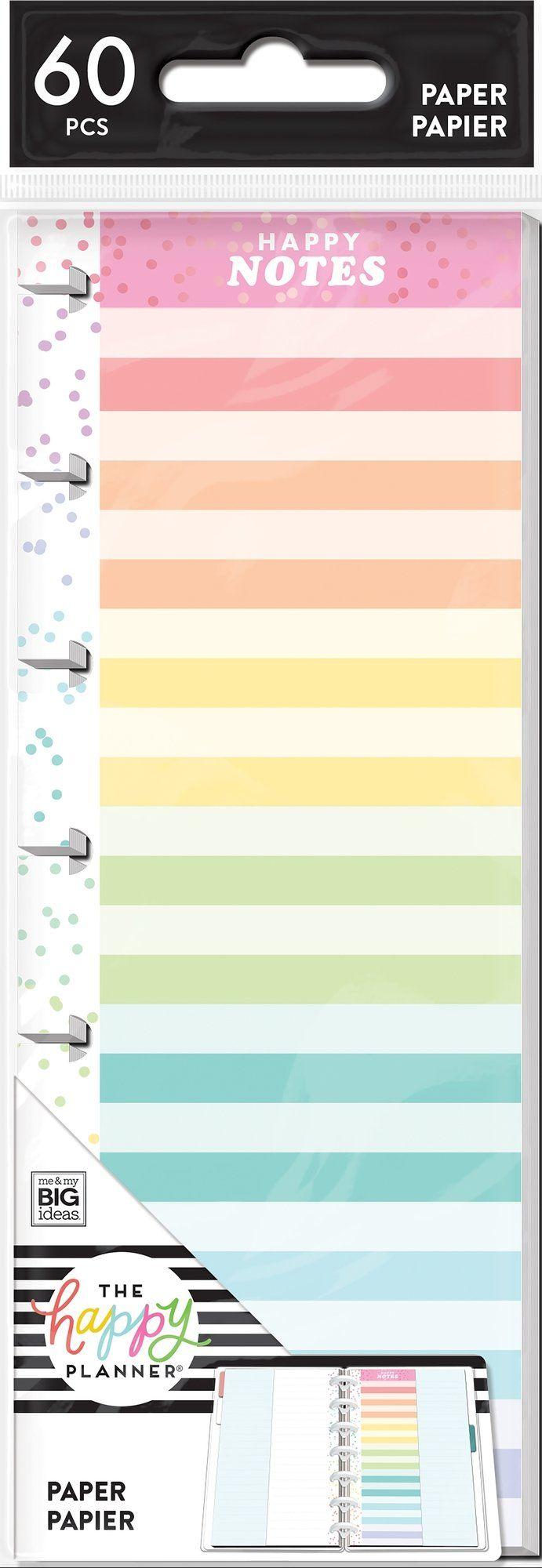 Mini Filler Paper - Color Stripe