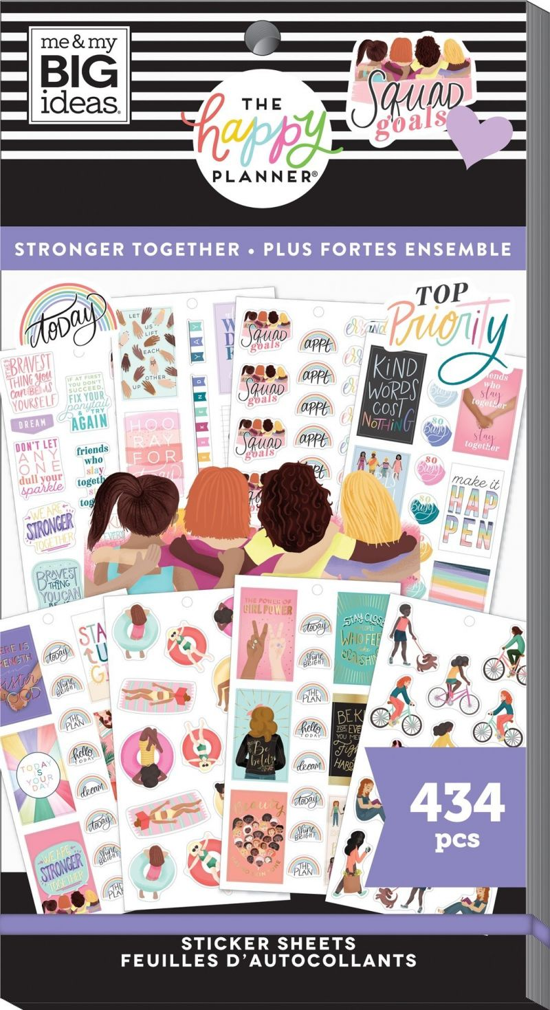 Value Pack Stickers - Stronger Together