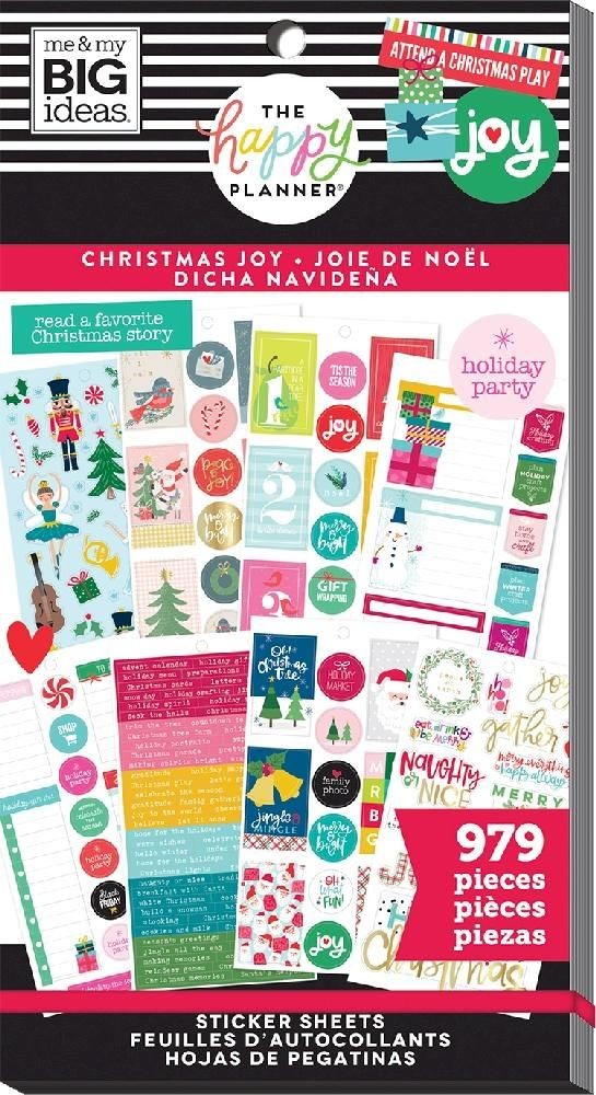 Value Pack Stickers - Christmas Joy