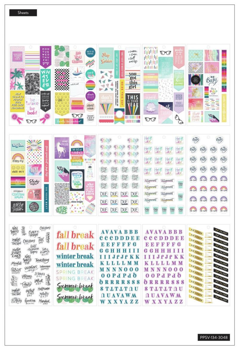 Value Pack Stickers - Student