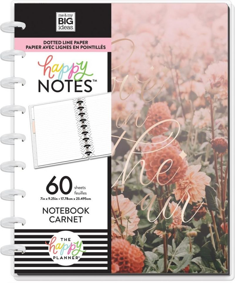 Classic Happy Notes® - Love Is In The Air Wedding Notebook