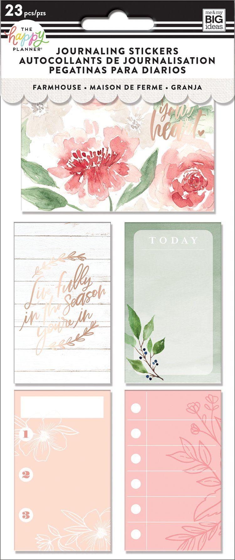 Journaling (flip) Stickers - Homestead
