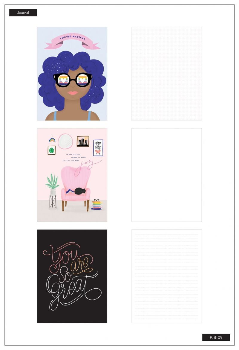 3 Pack Journals - Bookish