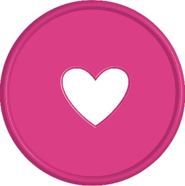 Expander Discs - Bright Pink