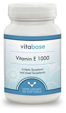 Vitabase Vitamin E (1000 IU)