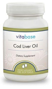 Vitabase Cod Liver Oil (650 Mg)
