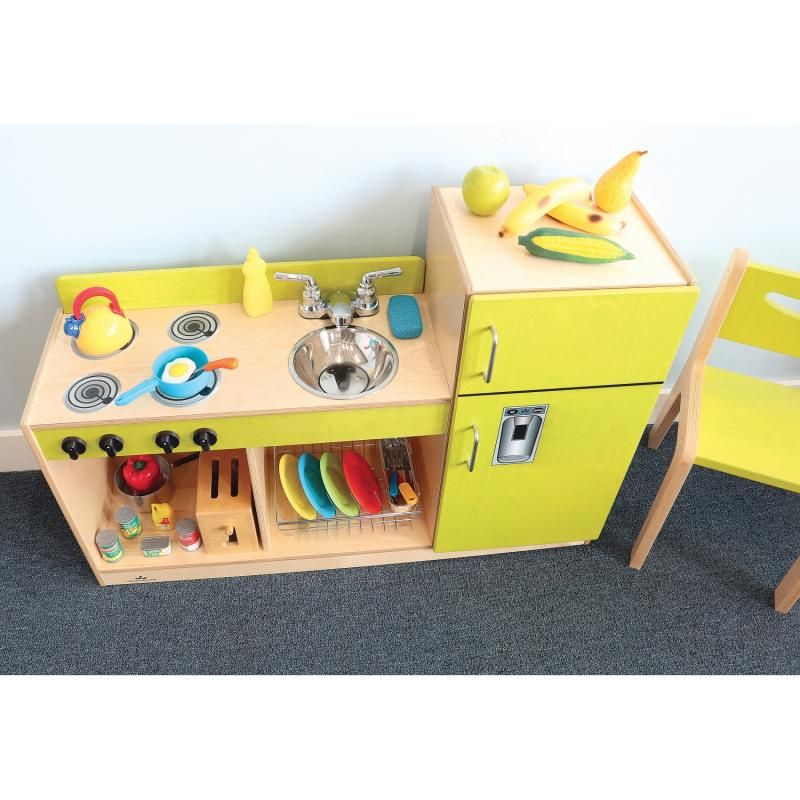Let's Play Toddler Kitchen Combo