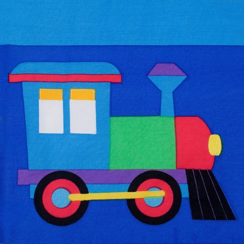 Trains, Planes & Trucks Cotton Pillow Sham